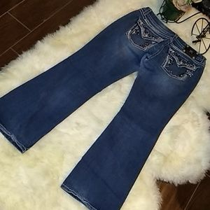 Miss me jeans size 34/32 boot cut